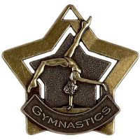 Mini Star Gymnastics Medal</br>AM719B